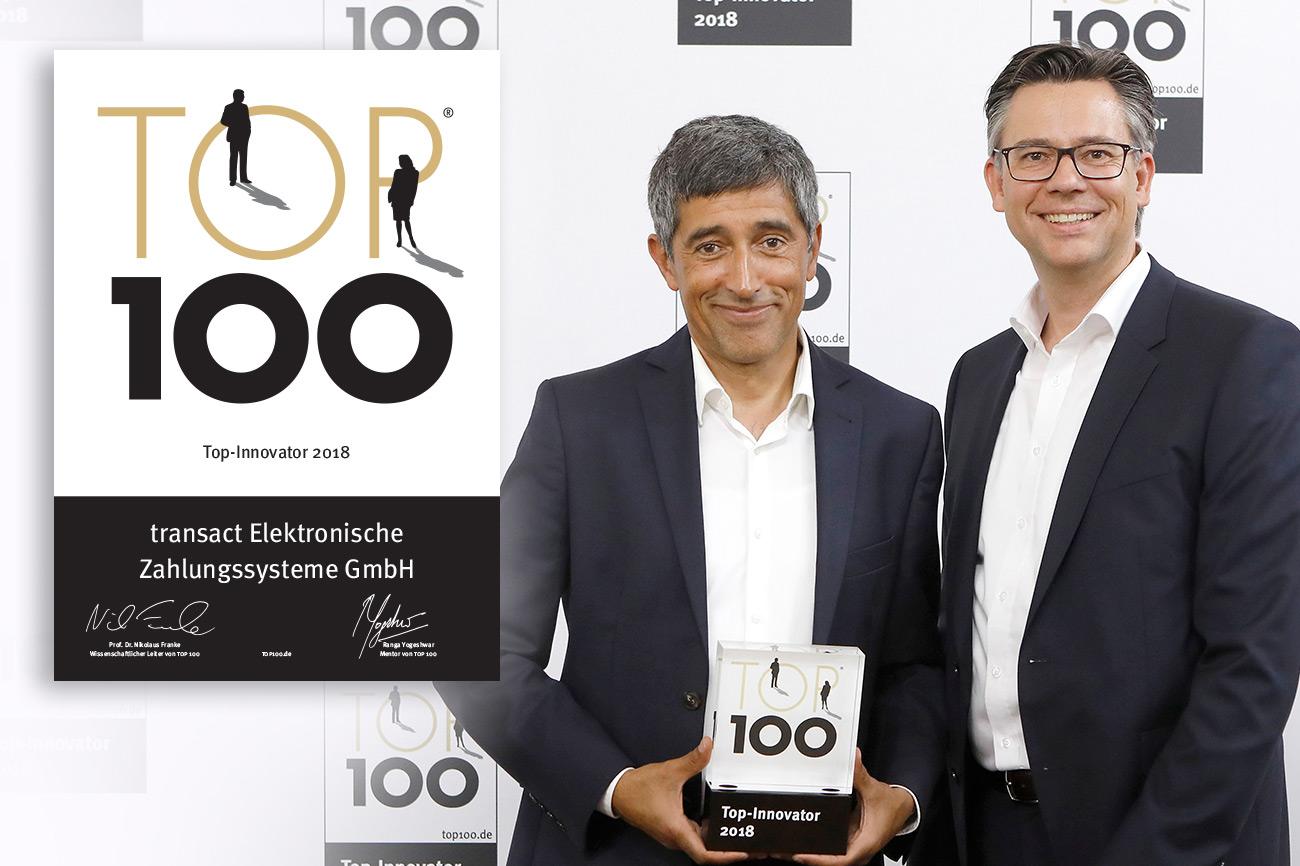 TOP 100 Innovationspreis für epay