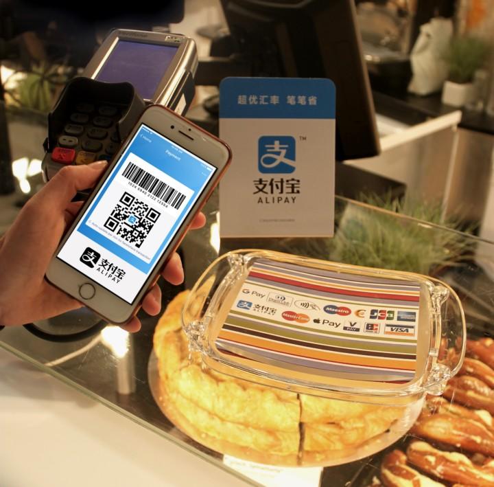 Bezahlen mit der Alipay-App