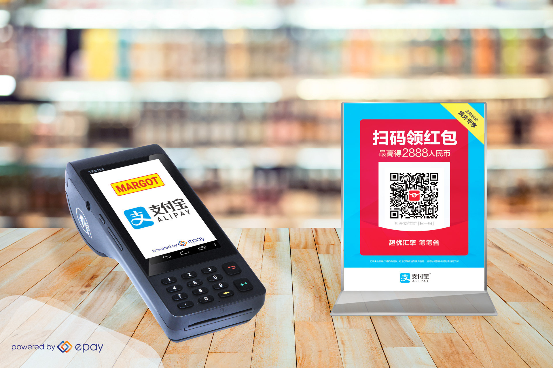 Alipay available in the Swiss kiosk market