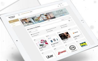 cadooz, epay's incentive specialist, creates new rewards shop for BonusCard.ch AG