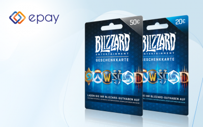 epay drives availability of Battle.net gift cards in the German market