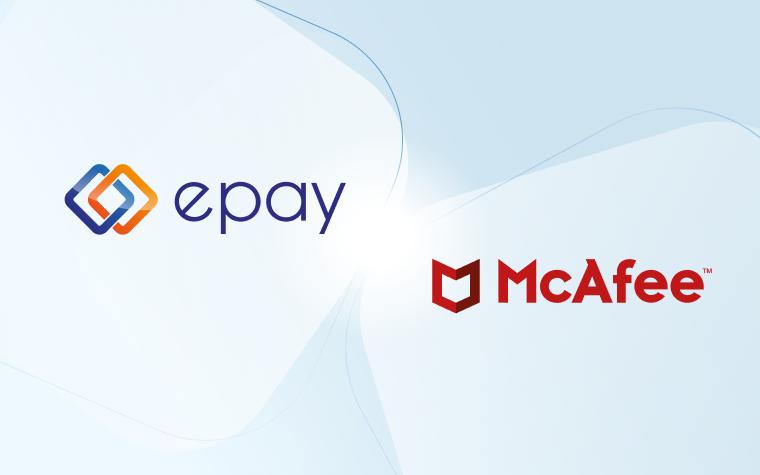 epay nimmt McAfee-Sicherheitsprodukte in sein Softwareportfolio auf