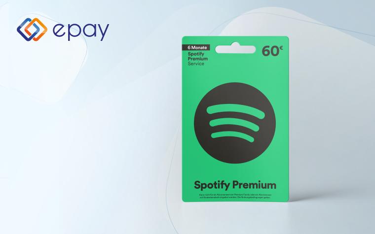 Spotify Geschenkkarten in Deutschland erhältlich