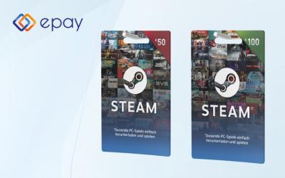 Gutscheinkarten für Steam erscheinen pünktlich zu Weihnachten