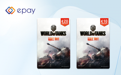 World of Tanks gift cards available in electronics stores immediately