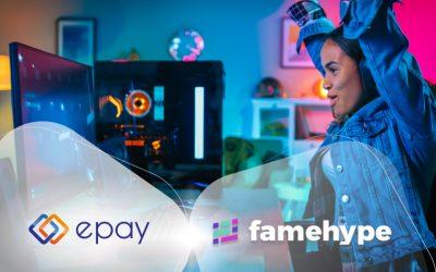 epay, Teil von Euronet Worldwide, und Gaming-Spezialist famehype revolutionieren mit neuer Plattform die kommerziellen Möglichkeiten für Gaming-Marken und Influencer