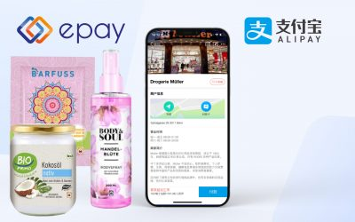 Alipay now available in Swiss branches of the Müller drugstore chain